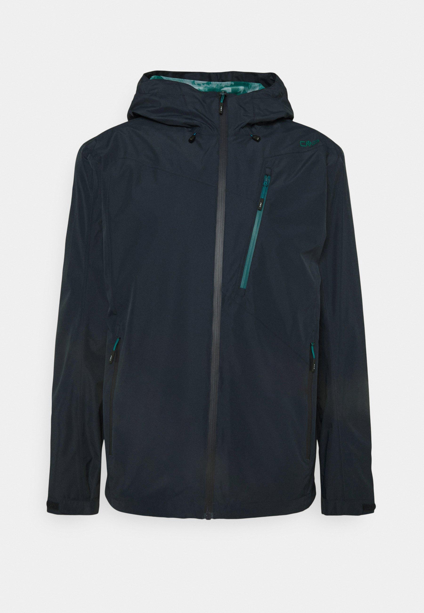 Men MAN ZIP HOOD JACKET - Waterproof jacket