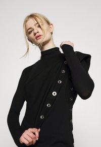 Diesel - CROLLER - Jersey dress - black - 3