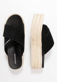 Calvin Klein Jeans - FERNANDA - Heeled mules - black - 3