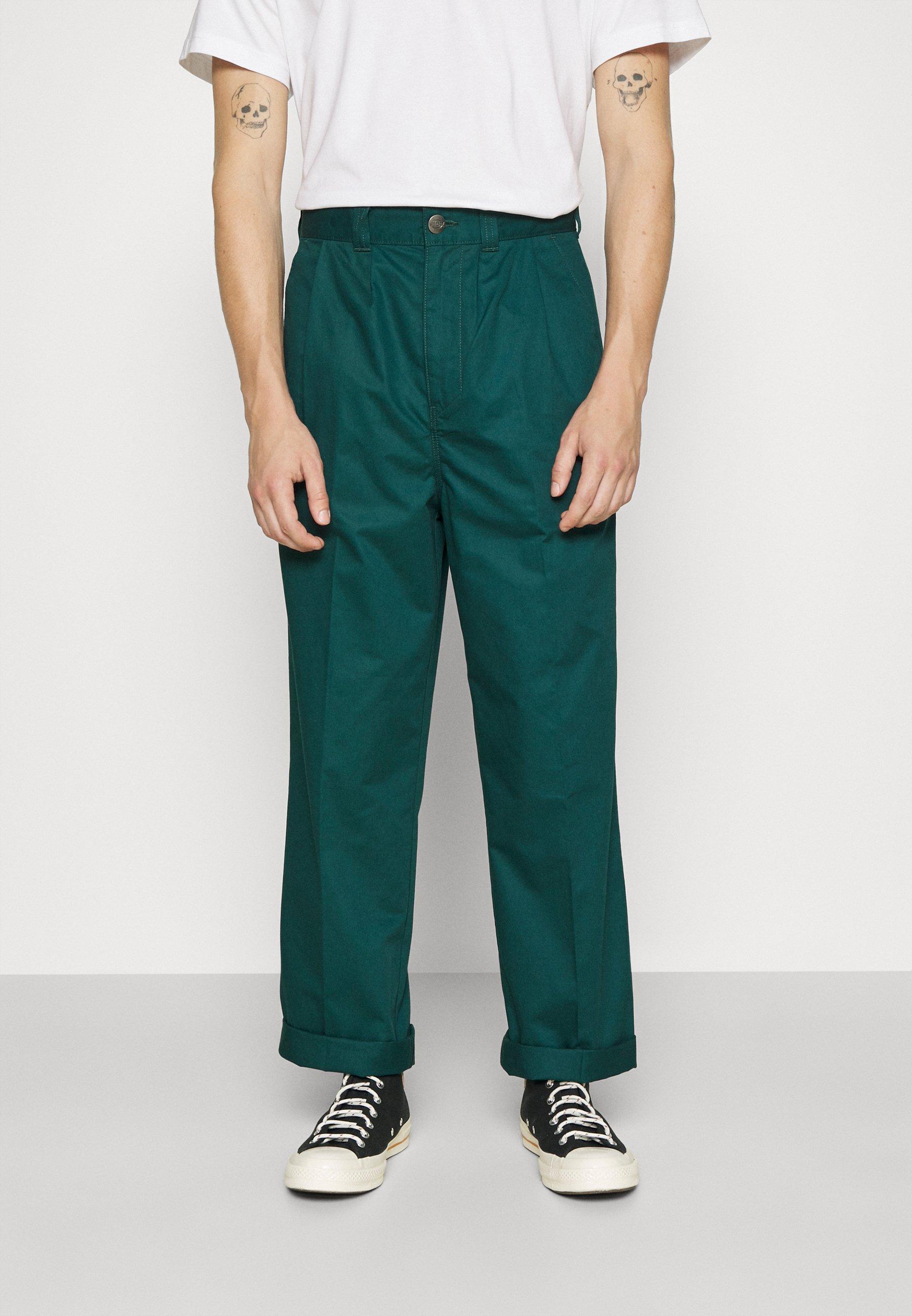 Homme OSCARVILLE PLEATED PANT - Pantalon classique