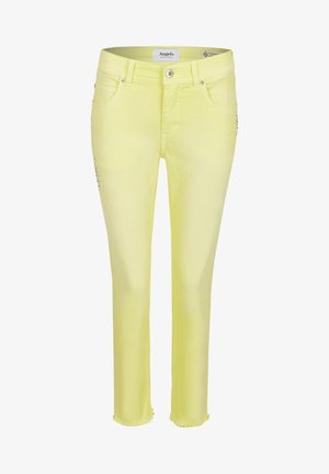 ORNELLA GLAMOUR - Slim fit jeans - gelb