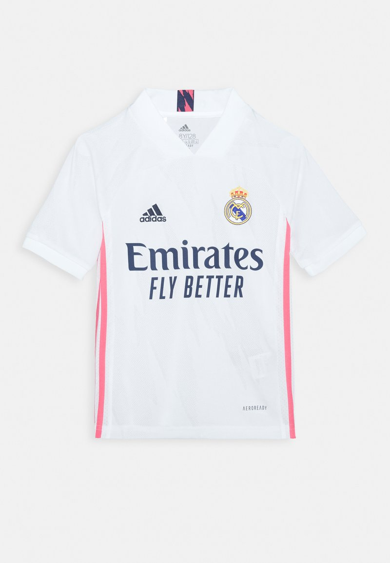 adidas Performance - REAL MADRID AEROREADY SPORTS FOOTBALL UNISEX - Club wear - white