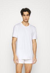 Nike Underwear - CREW NECK 2 PACK - Tílko - white - 0