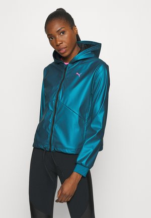 TRAIN WARM UP JACKET - Trainingsjacke - digi blue