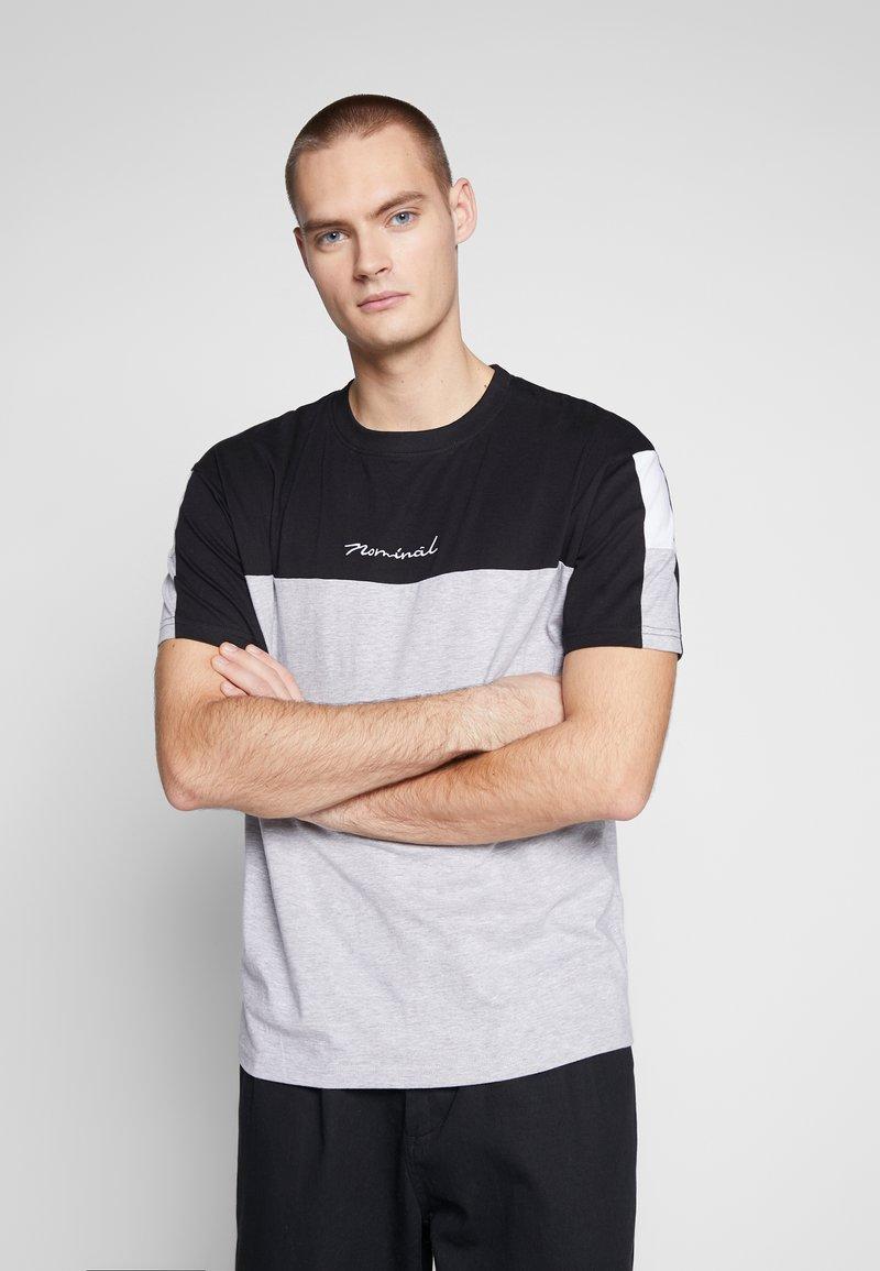 Nominal - DARA - Print T-shirt - heather grey