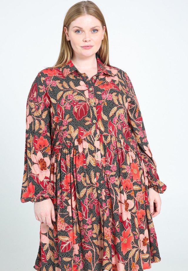 Skjortekjole - multicolor