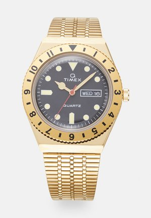 Q DIVER UNISEX - Horloge - gold-coloured/black