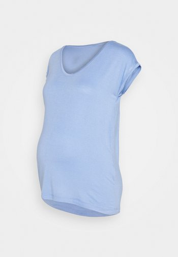 PCMBILLO TEE SOLID - T-shirt basic - pale iris