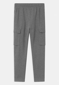 Nike Sportswear - CLUB CARGO  - Pantaloni sportivi - carbon heather/smoke grey/white - 1