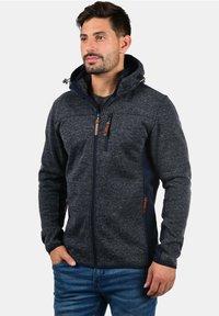INDICODE JEANS - Zip-up hoodie - dark blue - 0
