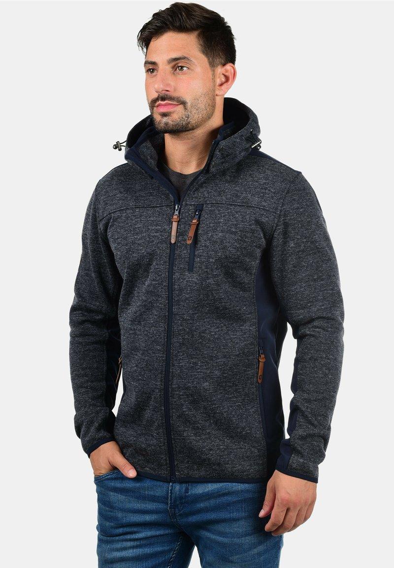 INDICODE JEANS - Zip-up hoodie - dark blue