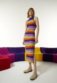 Uterqüe - Day dress - purple - 1