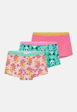 3 PACK - Pants - multi-coloured/pink