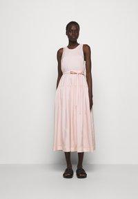 3.1 Phillip Lim - SLEEVELESS BELTED MAXI DRESS - Robe d'été - light blush - 0