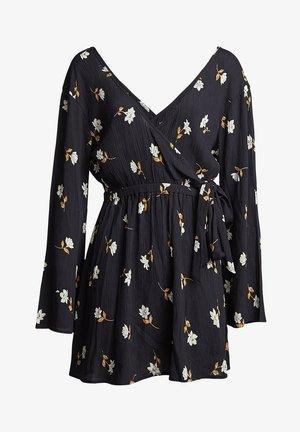 SIDE OUT  - Day dress - black floral