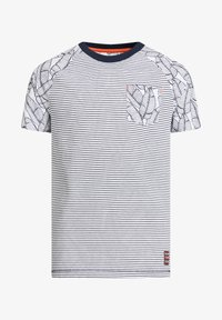 WE Fashion - Print T-shirt - dark blue - 3