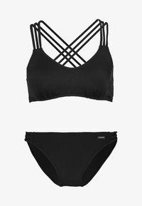 Bruno Banani - ALEXA BUSTIER SET - Bikini - black - 4
