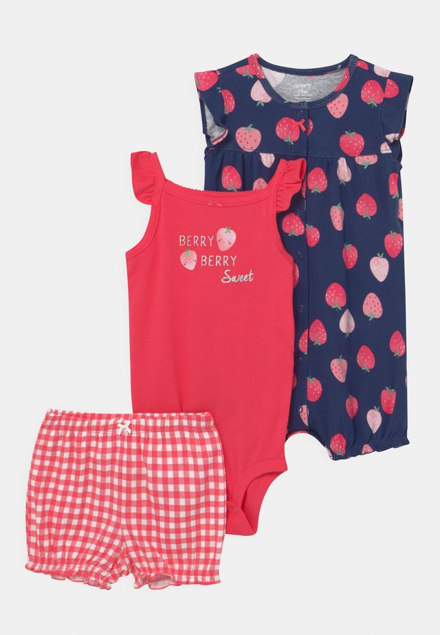 BERRY SET - Top - red