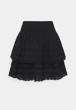 INGALINA - Mini skirt - black