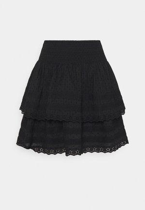 INGALINA - Miniskjørt - black