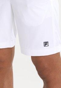 Fila - SANTANA - Sports shorts - white - 3