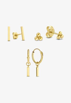 14 KARAT GOLD  - Earrings - gold