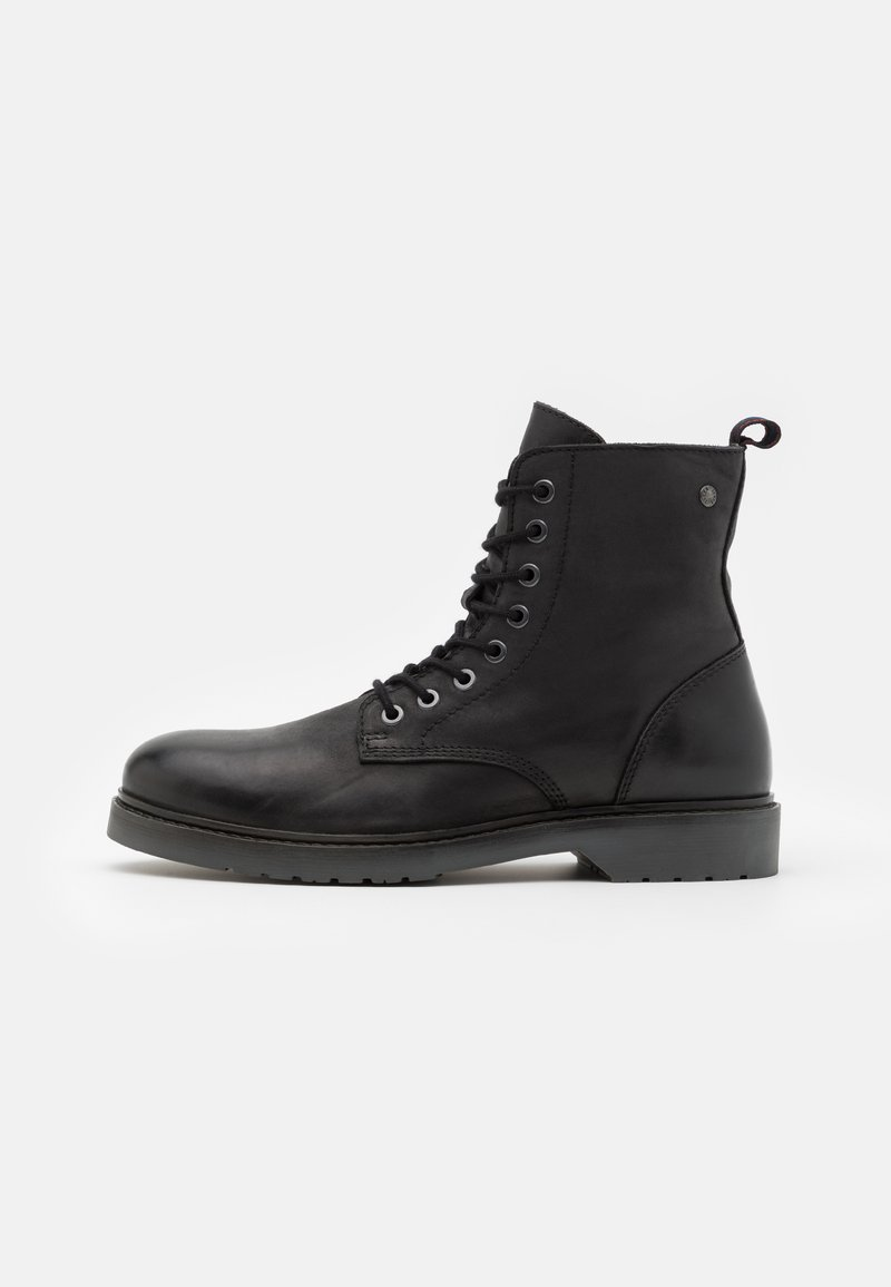 Jack & Jones - JFWNORSE BOOT - Lace-up ankle boots - anthracite