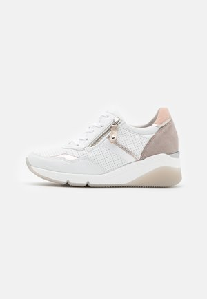 Trainers - weiß/puder/rosa