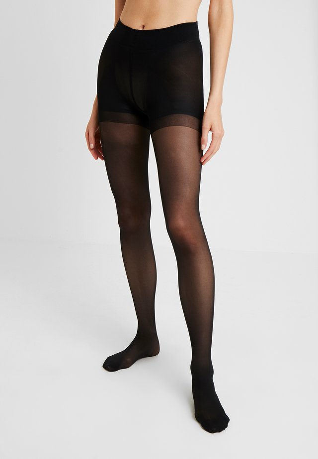 ANNA TOP 40 DEN - Collants - black