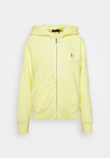 SEASONAL  - Felpa con zip - bristol yellow