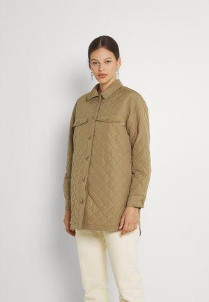 ONLNAYRA QUILT SHACKET - Light jacket - elmwood