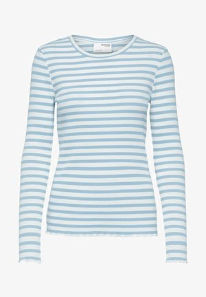 Long sleeved top - cashmere blue