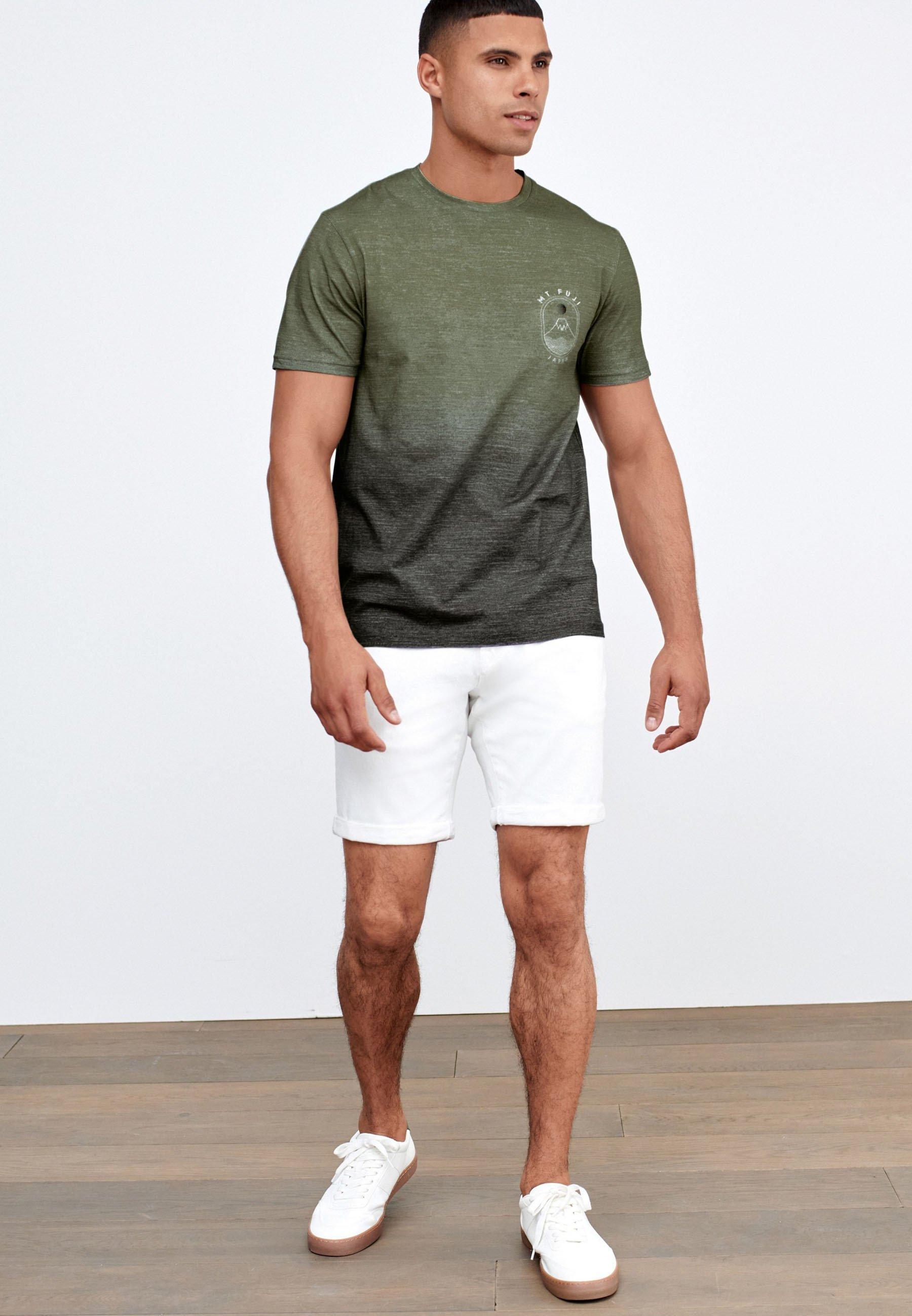 Herren DIP DYE GRAPHIC  - T-Shirt print