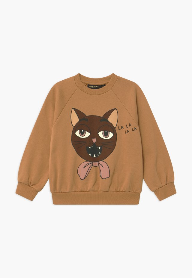 CAT CHOIR - Sweatshirt - beige