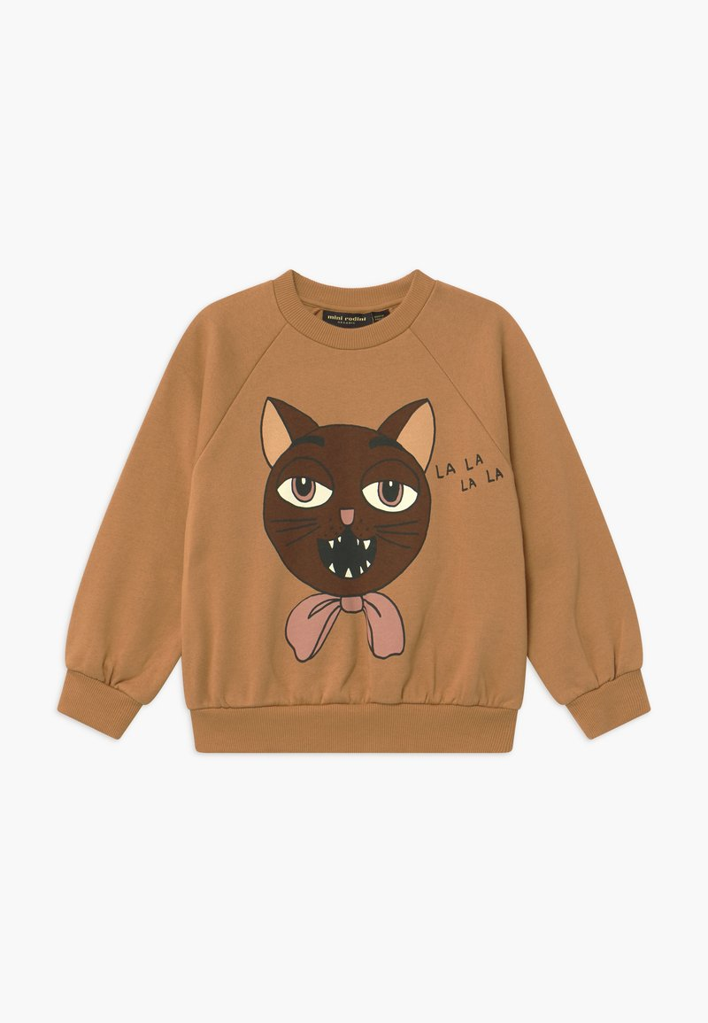 Mini Rodini - CAT CHOIR - Sweatshirt - beige