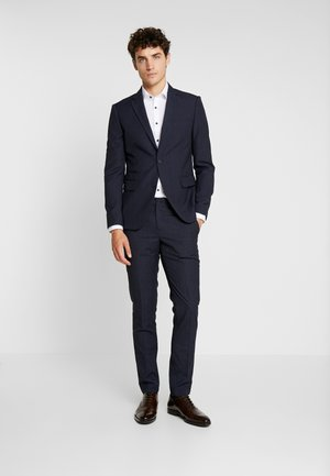 CHECKED MEN'S SUIT - Suit - blue