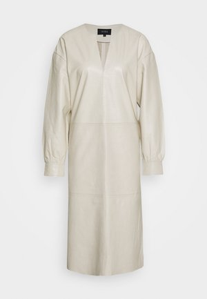 DORRIS TUNIC DRESS - Shift dress - cream