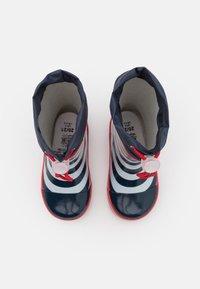 Playshoes - MARITIM UNISEX - Kumisaappaat - marine/weiß - 3