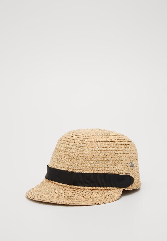 RAFIA CAP - Cap - sand