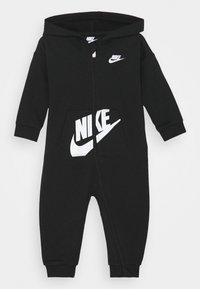 Nike Sportswear - HOODED BABY COVERALL UNISEX - Tuta jumpsuit - black - 0