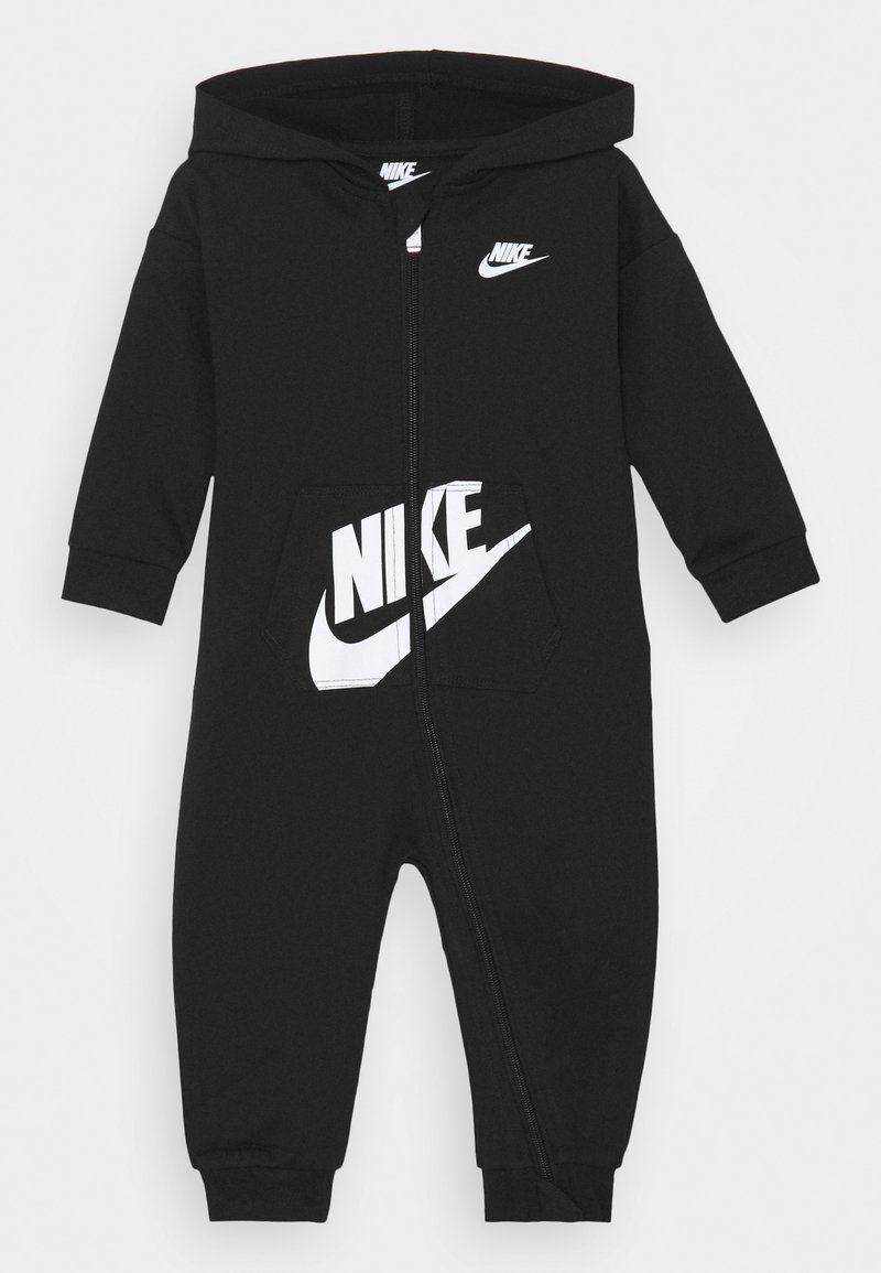 Nike Sportswear - HOODED BABY COVERALL UNISEX - Tuta jumpsuit - black