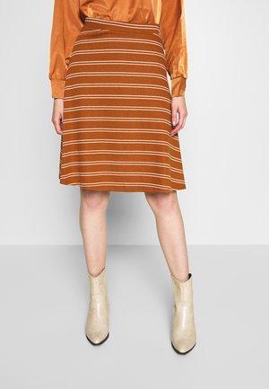 OBJALLEY SKIRT - A-line skirt - sugar almond/white