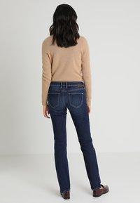 TOM TAILOR - ALEXA - Jeans Straight Leg - dark stone denim blue - 2