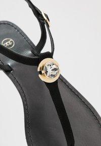 PARFOIS - T-bar sandals - black - 2
