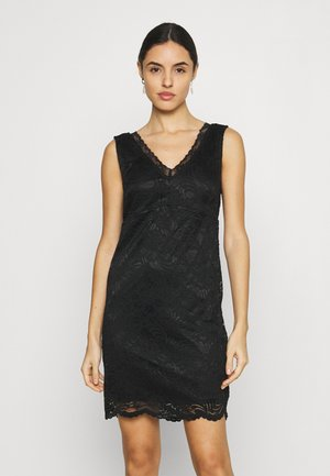 VMJANNE SHORT DRESS - Kjole - black