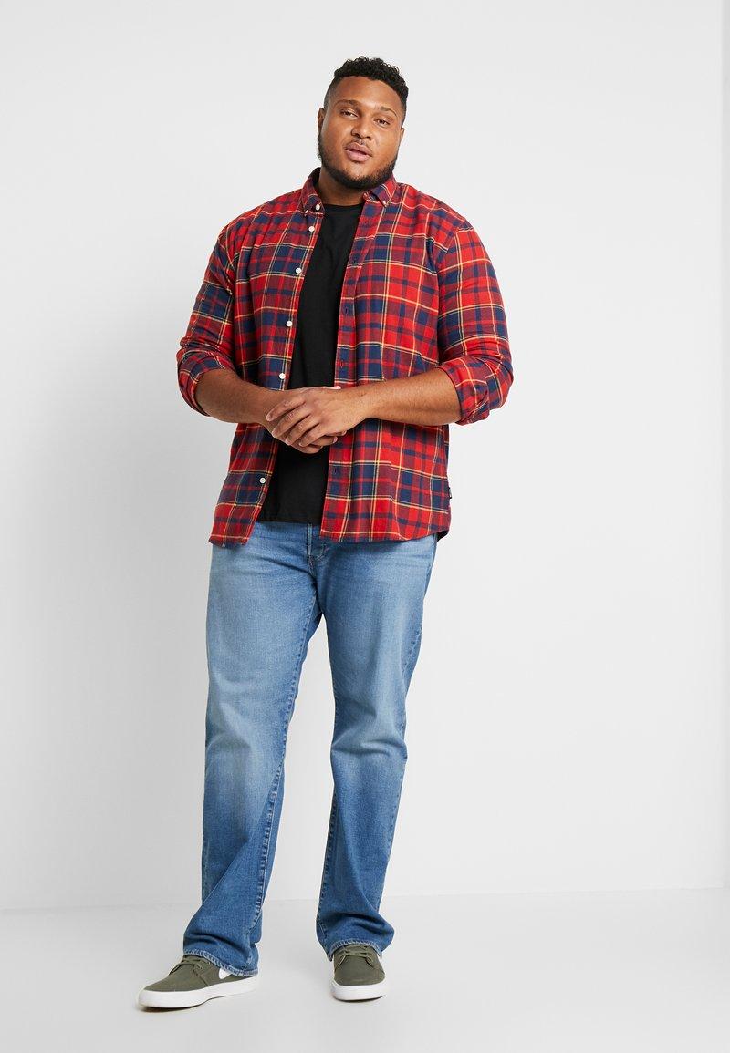 Burton Menswear London - B&T BASIC CREW 3 PACK  - T-shirt basic - black/white/grey