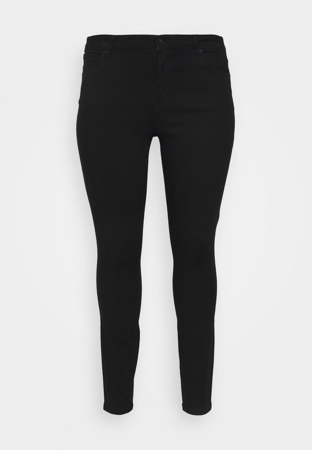 VMTANYA PIPING - Jeans Skinny Fit - black