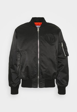 HORIZON UNISEX - Bomber bunda - black