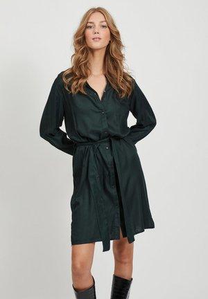 Shirt dress - scarab