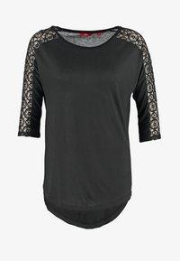 s.Oliver - Long sleeved top - black - 5